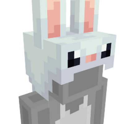 Bunny Hat on the Minecraft Marketplace by Hourglass Studios