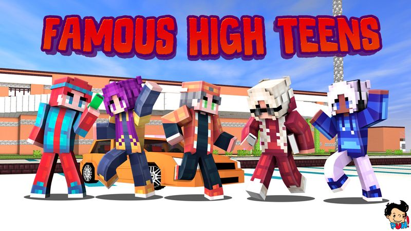 Famous High Teens on the Minecraft Marketplace by Duh
