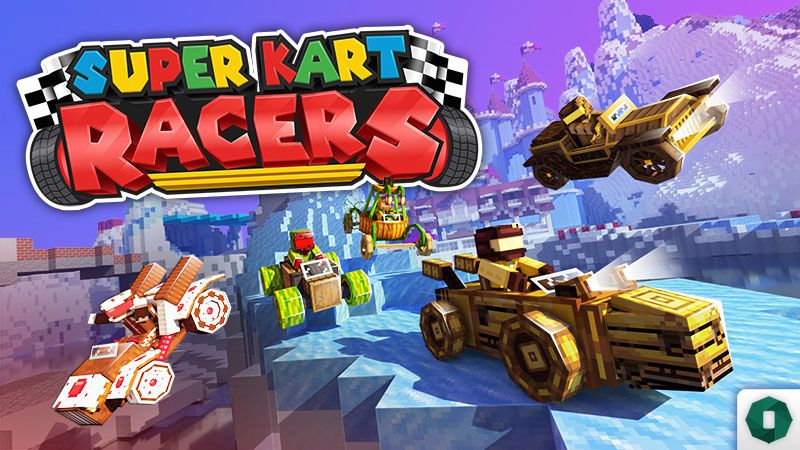 SUPER KART RACERS on the Minecraft Marketplace by Octovon