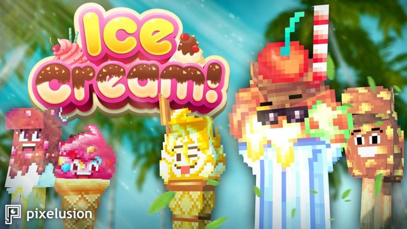 Ice Cream on the Minecraft Marketplace by Pixelusion