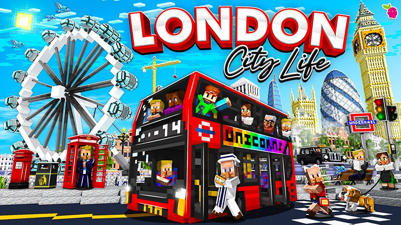 London City Life on the Minecraft Marketplace by Razzleberries
