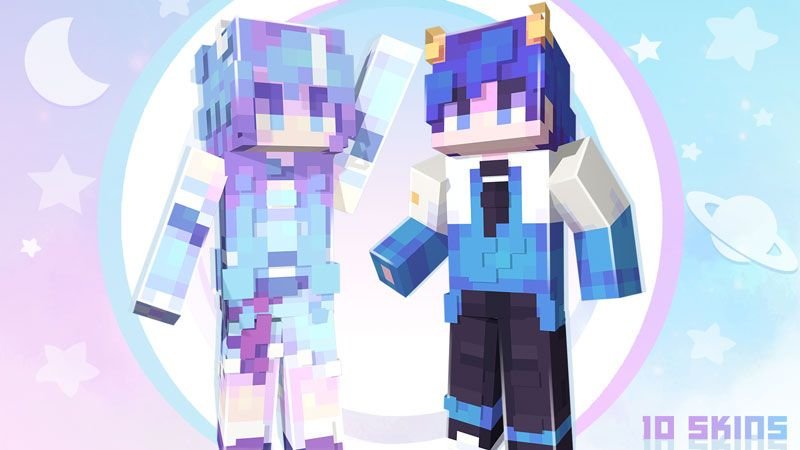 Planet Teens Skin Pack on the Minecraft Marketplace by Ninja Squirrel Gaming