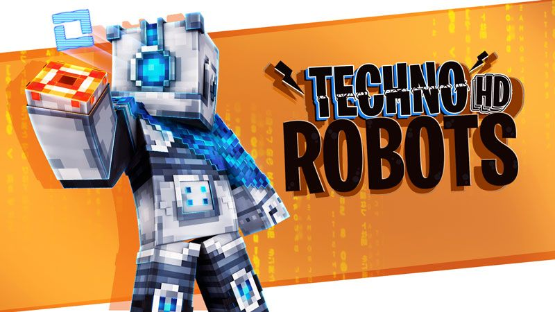 Techno Robots HD on the Minecraft Marketplace by BBB Studios