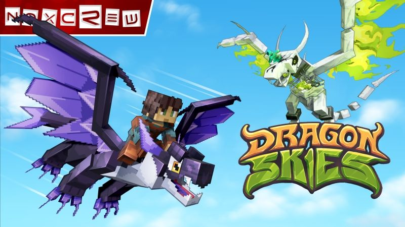 Dragon Skies on the Minecraft Marketplace by Noxcrew