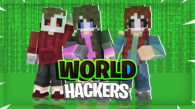 World Hackers on the Minecraft Marketplace by Pickaxe Studios