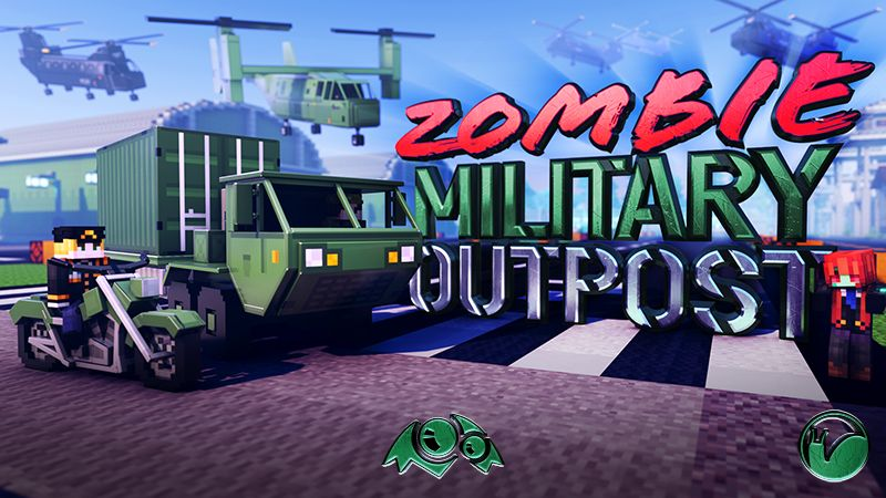Zombie Military Outpost on the Minecraft Marketplace by Monster Egg Studios