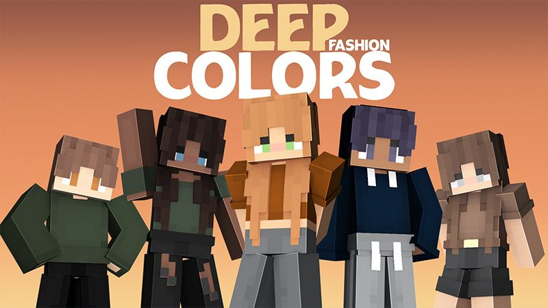 Deep Colors Fashion on the Minecraft Marketplace by Odyssey Builds