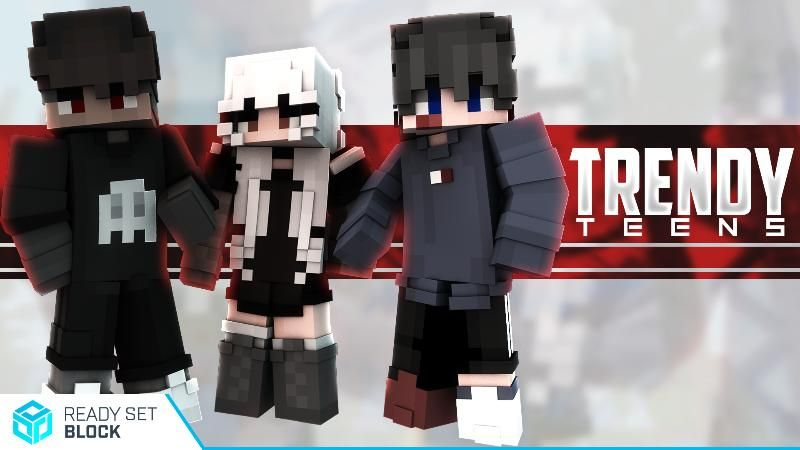 Trendy Teens on the Minecraft Marketplace by Ready, Set, Block!