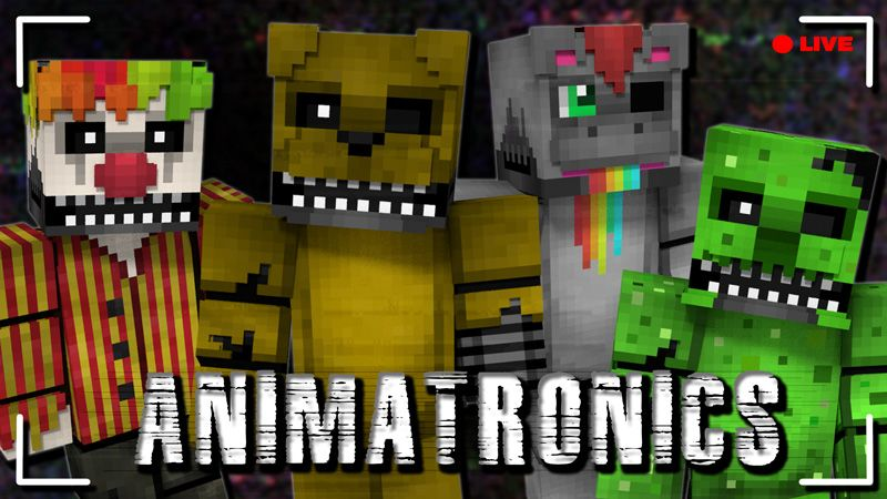 Animatronics HD Skin Pack on the Minecraft Marketplace by CupcakeBrianna