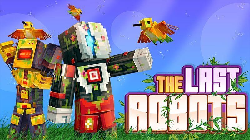 The Last Robots on the Minecraft Marketplace by Ninja Squirrel Gaming