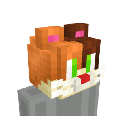 Calico Cat Head on the Minecraft Marketplace by Blu Shutter Bug