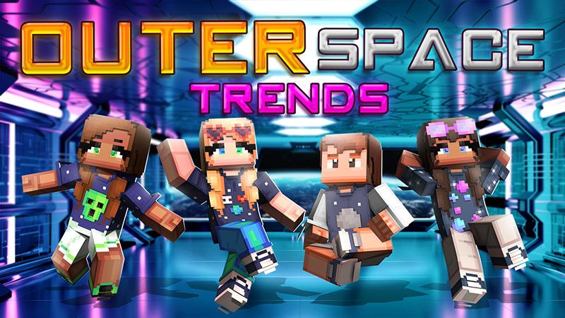 Outer Space Trends on the Minecraft Marketplace by Dark Lab Creations