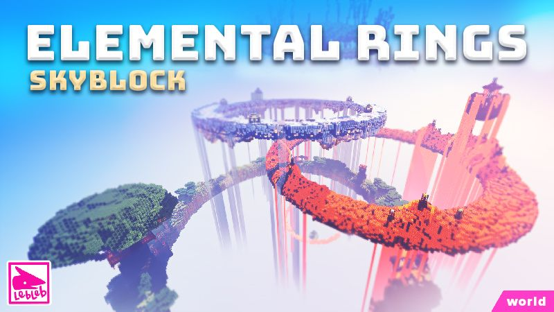 Elemental Rings Skyblock on the Minecraft Marketplace by Lebleb