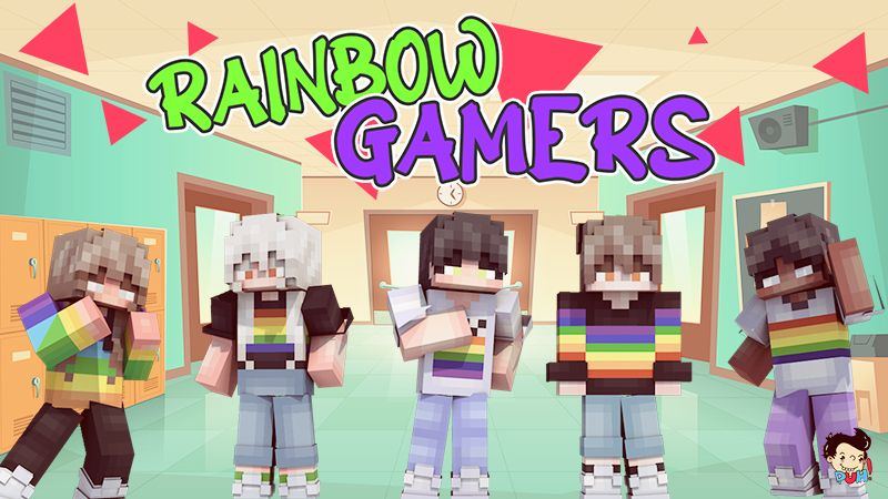 Rainbow Gamers on the Minecraft Marketplace by Duh