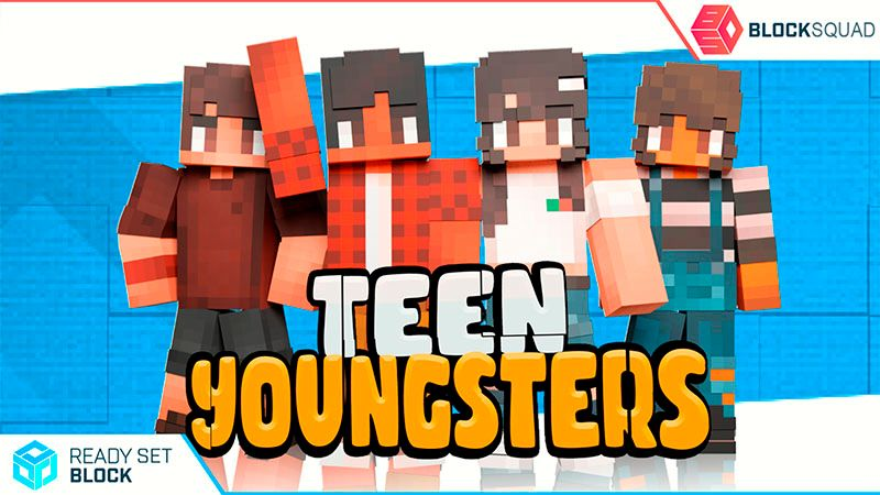 Teen Youngsters on the Minecraft Marketplace by Ready, Set, Block!