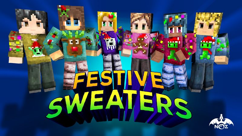 Festive Sweaters on the Minecraft Marketplace by Dragnoz