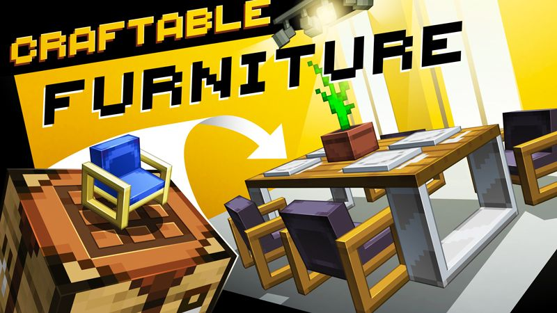 Craftable Furniture on the Minecraft Marketplace by SNDBX