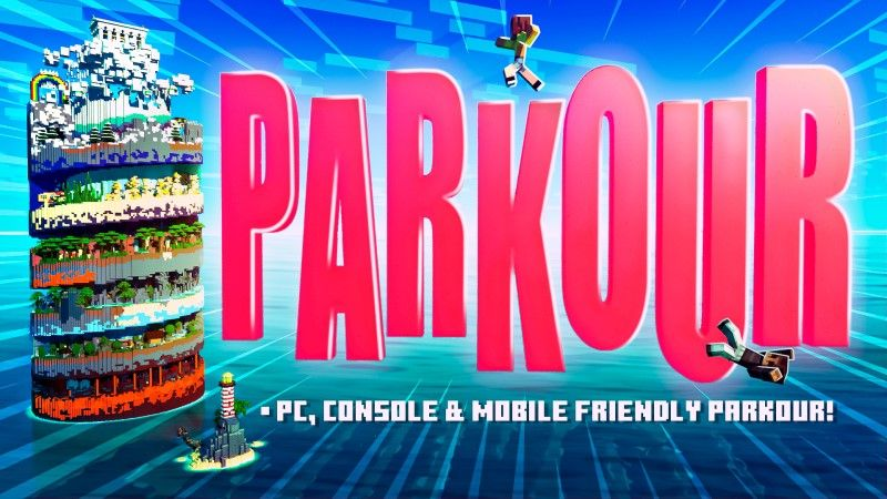 Parkour on the Minecraft Marketplace by Shapescape