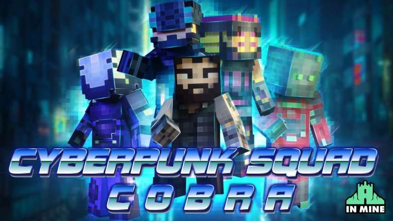 Cyberpunk Squad COBRA on the Minecraft Marketplace by In Mine