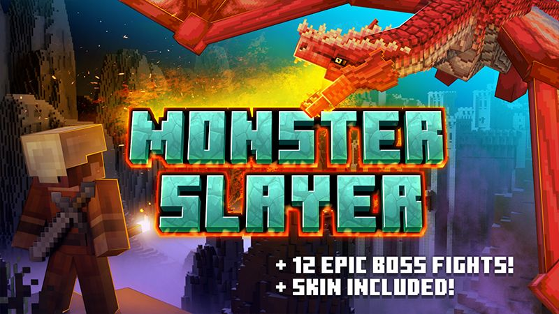 Monster Slayer on the Minecraft Marketplace by Shapescape