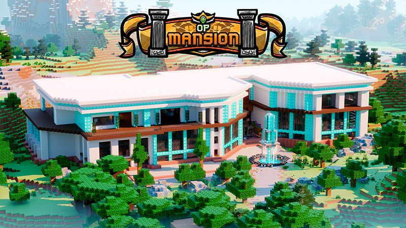 OP Mansion on the Minecraft Marketplace by Odyssey Builds