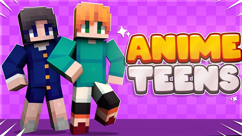 Anime Teens on the Minecraft Marketplace by Mine-North