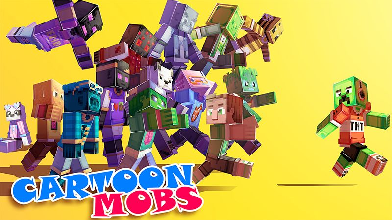 Cartoon Mobs on the Minecraft Marketplace by Hourglass Studios